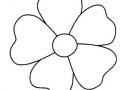 Permainan Mewarnai lima kelopak bunga Online